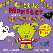cover - Little Monster and the Spooky Party