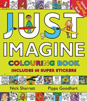 Just imagine, colouring book